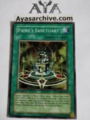 Fiend's Sanctuary - DPKB-EN035 - Super Rare - 1st Edition
