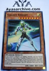 Galaxy Knight - LED3-EN040 - Super Rare - 1st Edition