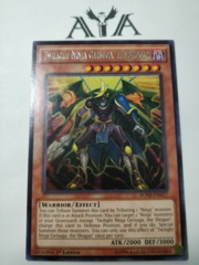 Twilight Ninja Getsuga, the Shogun - BOSH-EN017 - Rare - 1st Edition