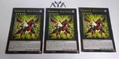 1X Raidraptor - Blaze Falcon - CROS-EN048 - Rare - 1st Edition