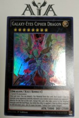 Galaxy-Eyes Cipher Dragon - DPDG-EN040 - Super Rare - 1st Edition