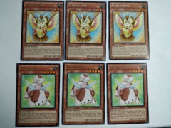 6 CARDS FLUFFAL OWL + DOG - 1ST ED RARE NM NECH-EN018 NECH-EN017