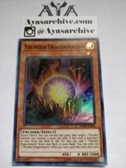 Thunder Dragonmatrix - OP09-EN006 - Super Rare - Unlimited