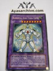 Elemental Hero Terra Firma - PP02-EN009 - Secret Rare - Unlimited Edition
