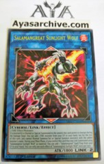 Salamangreat Sunlight Wolf - SAST-EN048 - Rare - 1st Edition