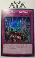 Magical Musket - Last Stand - SPWA-EN028 - Secret Rare - 1st Edition