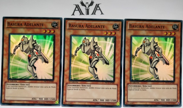 3X JUNK FORWARD - 1ST ED NM/VLP PRC1-EN001 - YUGIOH *SPANISH