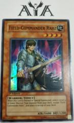Field-Commander Rahz - PTDN-EN030 - Super Rare - 1st Edition