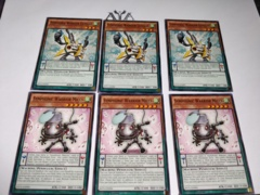 6 CARDS SYMHONIC WARRIOR MICCS + GUITAAR - COMMON - 1ST ED