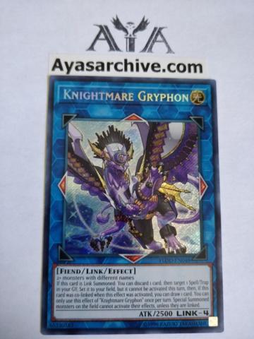 Knightmare Gryphon - FLOD-EN048 - Secret Rare - Unlimited Edition