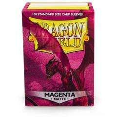 Dragon Shield Sleeves: Matte - Magenta (100 ct.)