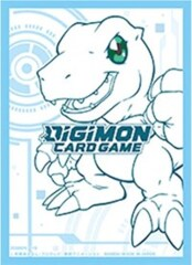 Digimon Card Game: Official Sleeve - Agumon (60-Pack)