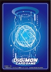 Digimon Card Game: Official Sleeve - Standard Card Back (60-Pack)