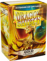 Dragon Shield Sleeves: Classic - Gold (100 ct.)