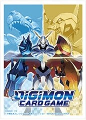 Digimon Card Game: Official Sleeve - Omegamon Evolution (60-Pack)