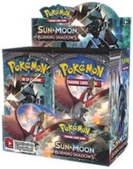 SM: Sun & Moon - Burning Shadows - Booster Box