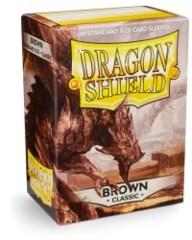 Dragon Shield Sleeves: Classic - Brown (100 ct.)