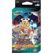 Dragon Ball Super TCG: PP03 - Vicious Rejuvenation - Premium Pack