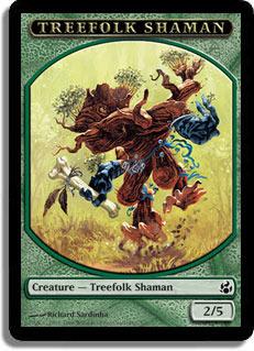 Treefolk Shaman - Token