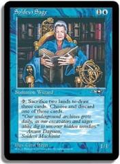 Soldevi Sage (Blue Robe)