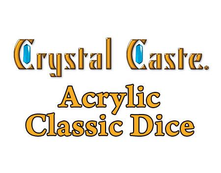 Crystalcasteacrylicclassicdicetitle