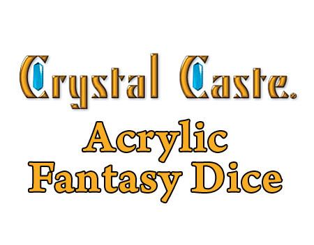 Crystalcasteacrylicfantasydicetitle