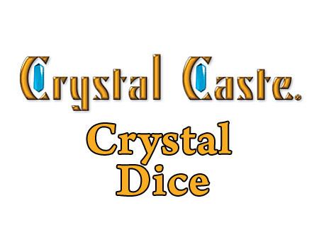 Crystalcasteacryliccrystaldicetitle