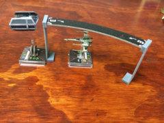 GearForge Studios 3D Printed Tile Elevator - Short Pair