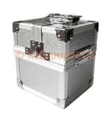 Kakapopo TCG Locking Silver Metal Deck Box-Single