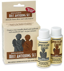 Rust Antiquing Paint Set