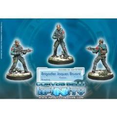 Infinity (#459) Ariadna: Brigadier Jacques Bruant, Sous-officier des Métros (Molotok)