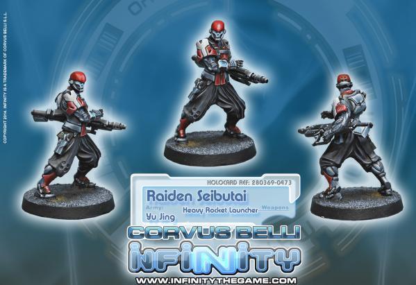 Infinity (#473) Yu Jing: Raiden Seibutai (Heavy Rocket Launcher)
