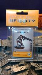Infinity (#505) ALEPH: Teucer. Agema Warrant Officer (Feuerbach)