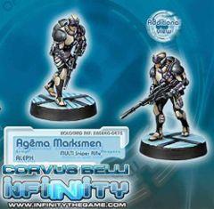 Infinity (#475) ALEPH: Agema Marksmen (MULTI Sniper)