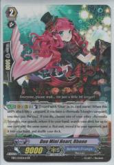Duo Mini Heart, Rhone - Black - EB10/005EN-B - RR
