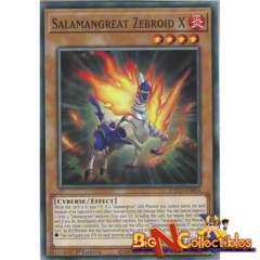 ETCO-EN003 - Salamangreat Zebroid X - Common - 1st Edition