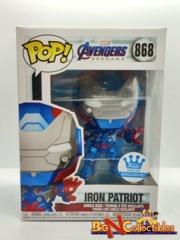 Funko Pop! Avengers Endgame - Iron Patriot #868 Funko Shop Exclusive