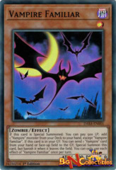 DASA-EN001 - Vampire Familiar - Super Rare - 1st Edition