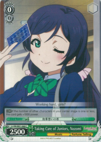 LL/EN-W01-066 C Taking Care of Juniors, Nozomi