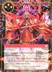 RDE-011 - SR FOIL - Milest, the First Flame