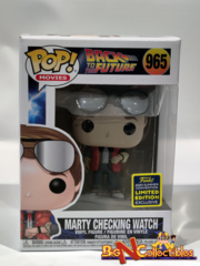 Funko Pop! Marty Checking Watch # 965 2020 SDCC SHARED Exclusive On Hand