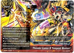 X-BT01/0028EN - R - Thunder Lance X Tempest Buster!