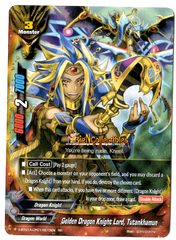 X-BT01A-CP01/0013EN - RR - Golden Dragon Knight Lord, Tutankhamun