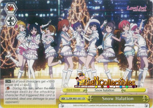 LL/EN-W01-051 CR Snow Halation