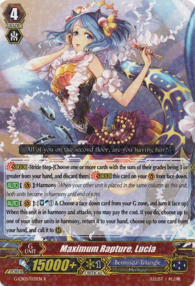 G-CB05/021EN - R - Maximum Rapture, Lucia