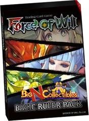 Force Of Will TCG Basic Ruler Pack (5 Rulers + Magic Stones)