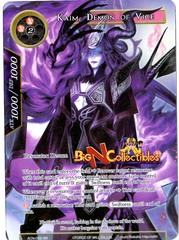 ACN-052 - SR - Kaim, Demon of Vice (Full Art)