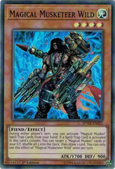 SPWA-EN021 - Super Rare - 1st Edition - Magical Musketeer Wild