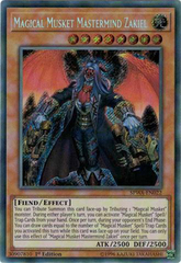 SPWA-EN022 - Secret Rare - 1st Edition - Magical Musket Mastermind Zakiel -