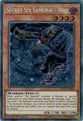 SPWA-EN004 - Secret Rare - 1st Edition - Secret Six Samurai - Doji